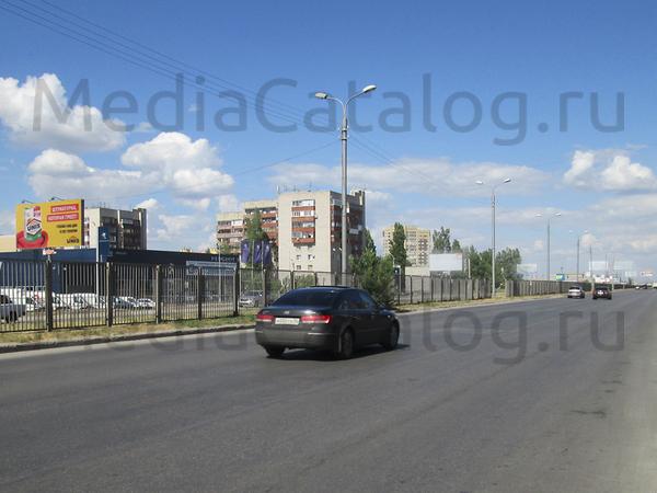 Билборд (3x6): Волгоград, 3-ая Продольная магистраль Х Землячки ул., д.21б. Сторона В (№57735)