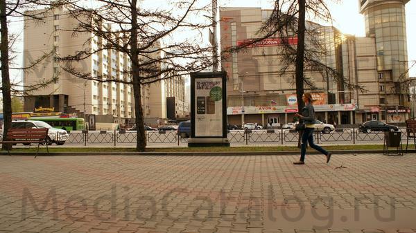 Ситиформат (Пиллары 3х1.4): Красноярск, Вейнбаумана ул. Х Карла Маркса ул.. Сторона С (№159454)